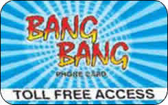 Bang Bang international prepaid phone card